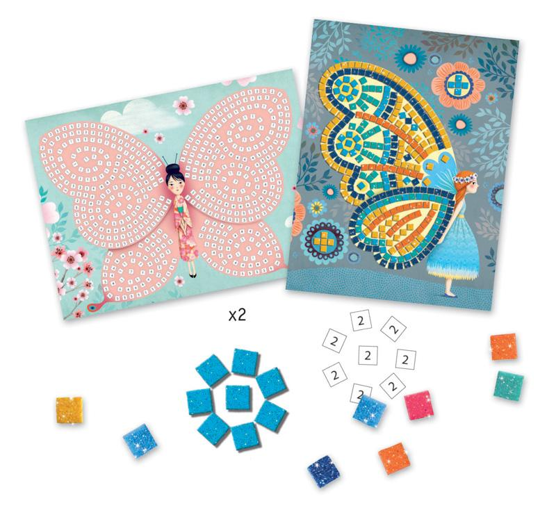 Butterflies Mosaics — Colourful Learning